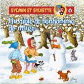 sylvain-et-sylvette-t-6-un-drole-de-bonhomme-de-neige