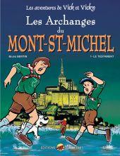 vick-et-vicky-t-5-eo-les-archanges-du-mont-saint-michel-t-1-le-testament